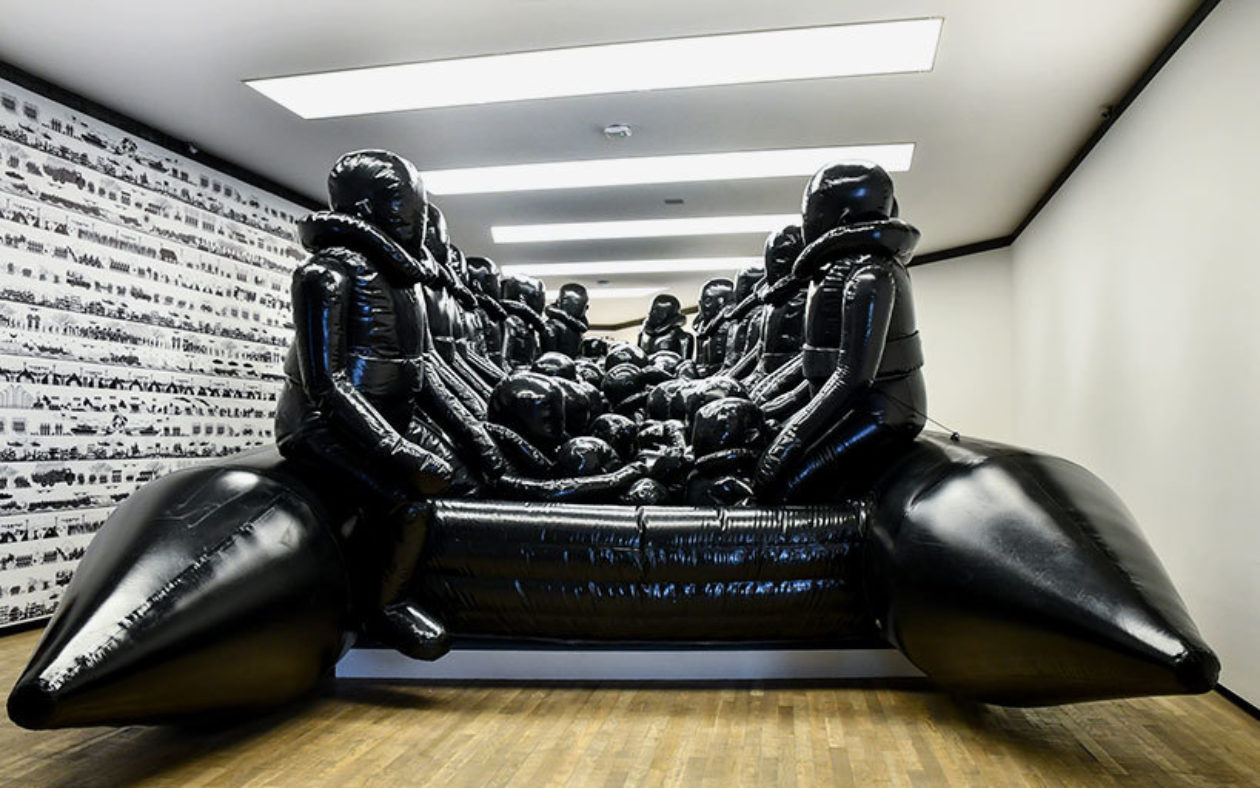 Ai Weiwei Inoculation Exhibition Proa Argentina Gonzalo Viramonte Designboom 08