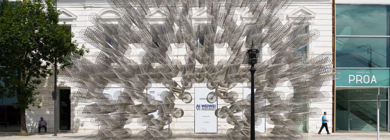Ai Weiwei Inoculation Exhibition Proa Argentina Gonzalo Viramonte Designboom 1800
