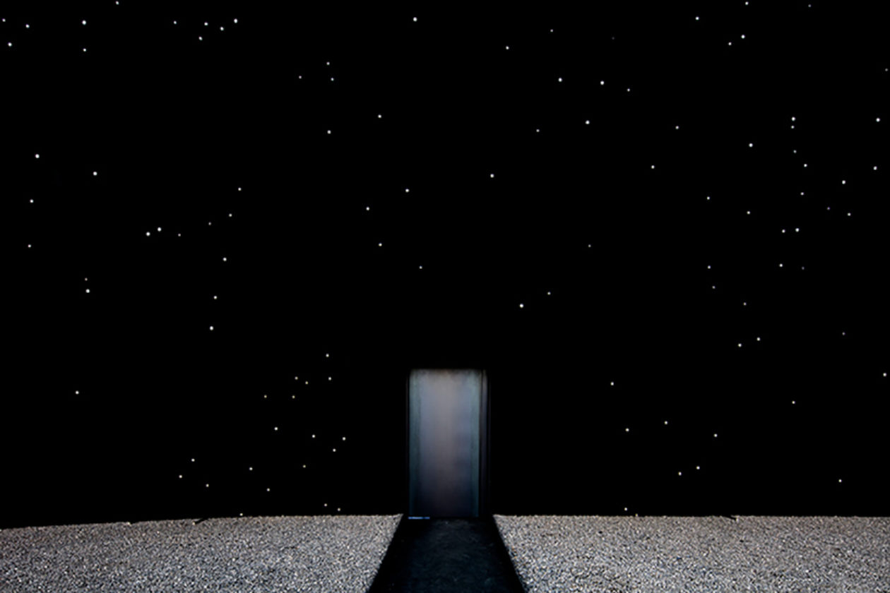 Asif Khan Just Created The Darkest Building On Earth For The Pyeongchang 2018 Winter Olympics Designboom 06 X