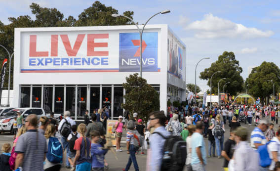 channel 7 / royal easter show